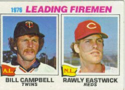 1977 Topps Baseball Cards      008       Bill Campbell/Rawly Eastwick LL